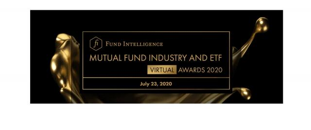 Fund Intelligence Mutual Fund industry and ETF Virtual Awards - Retirement leader of the year 2020