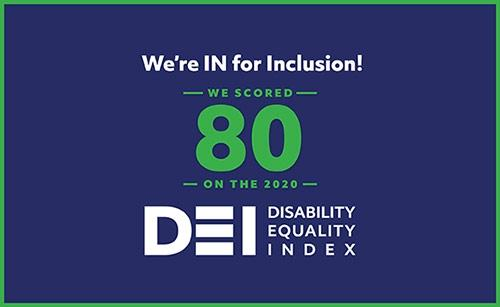 Empower Retirement scores 80% on Disability Equality index for 2020